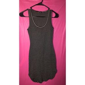 Ambiance stripped dress